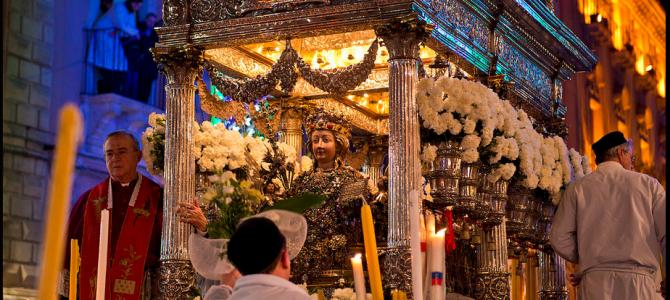 Festa di S. Agata a Catania: una delle più pittoresche d'Italia